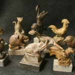 Verzameling dierfiguurtjes